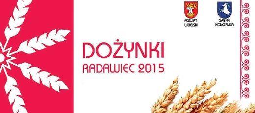 Prezentacja naszej gminy na Dożynkach Powiatowych w Radawcu 30.08.2015