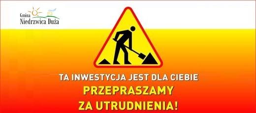 Utrudnienia w ruchu - ulica Ogrodowa