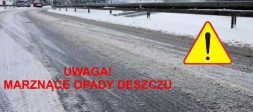Ostrzeżenie o oblodzeniu -  28-30.01.2019 r.